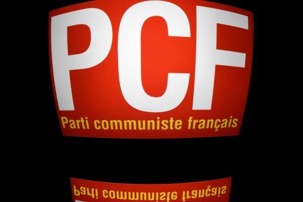 Logo du Parti Communiste Français dont Georges Cukierman, décédé le 18 avril 2020 à l'âge de 94 ans, était un militant.