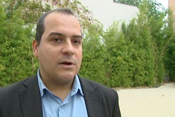 Hussein Bourgi secrétaire fédéral du PS de l'Hérault.