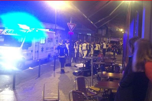 Le Petit Cambodge, restaurant cible d'une attaque vendredi 13 novembre, à Paris.