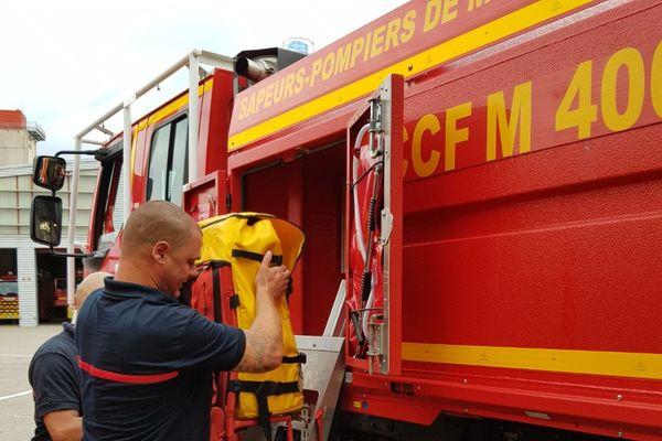 14 sapeurs-pompiers de Meurthe-et-Moselle en renfort dans le sud sur les feux de forêt