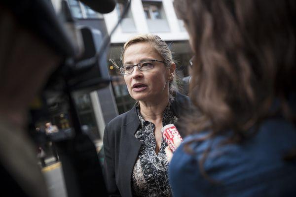 Me Caty Richard sera l'avocate de la famille éloignée d'Alexia Daval lors du procès de Jonathann Daval devant la cour d'assises de Haute-Saône.