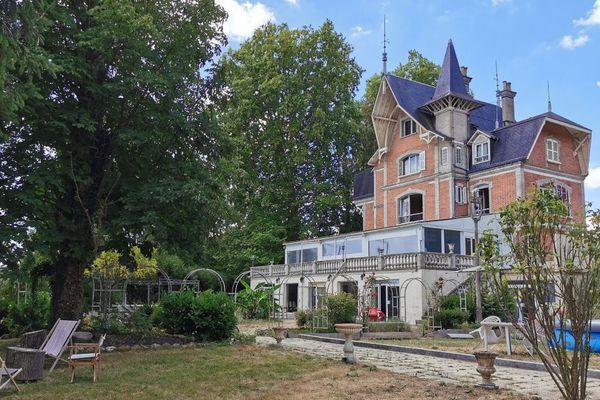 Le Manoir de l'Onde, à Villeperrot, dans l'Yonne.