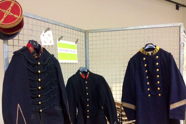 Des uniformes de la Grande Guerre
