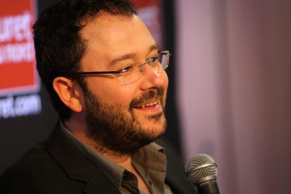 L'auteur de bande dessinée, Riad Sattouf, photographiée en septembre dernier.