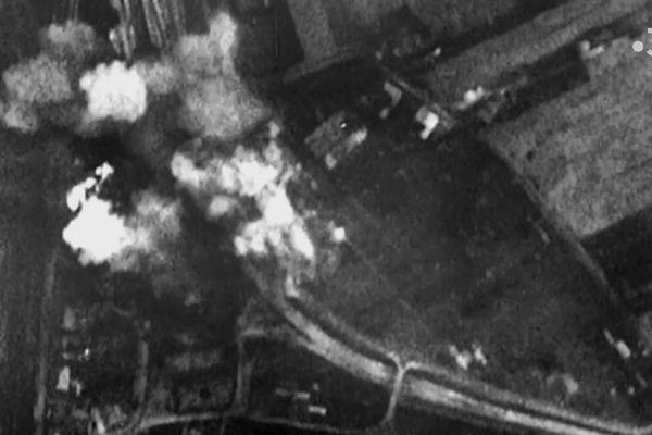 Près de 4.000 tonnes de bombes ont été lâchées sur la seule ville de Brest.