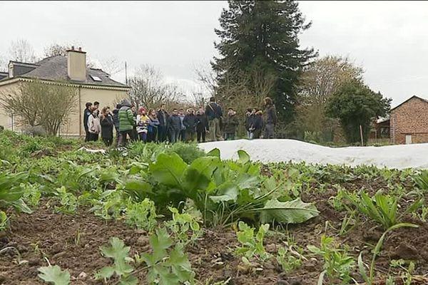 Mickaël Hardy s'est installé sur la Prévalaye, un site tout proche du centre de Rennes.