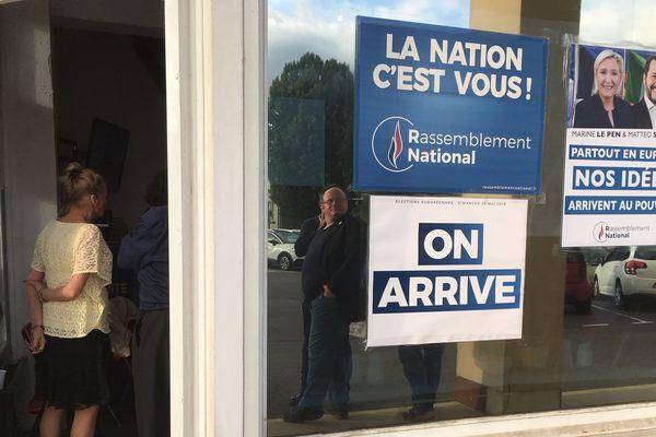 Le vote RN en Charente