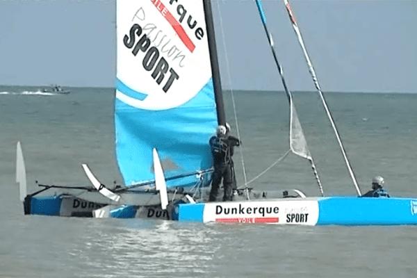 Le Diam 24 est le bateau officiel du Tour de France à la voile 2015