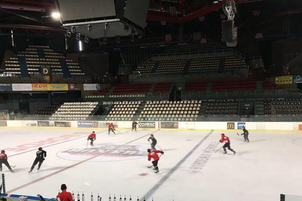 Les Boxers de Bordeaux à la patinoire Mériadeck (archives)