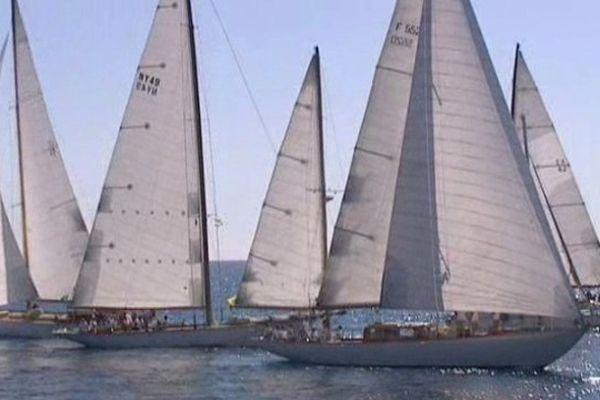 Régates de Nice et Villefranche-sur-Mer à voir du 16 au 21 septembre.