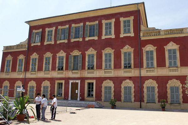 Vue générale du musée Matisse à Nice.