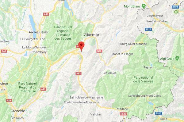 Bonvillaret est situé en Savoie, à 40 km de Chambéry.