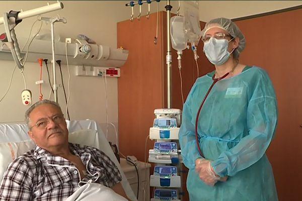 Antonio Savio est en attente de greffe de moelle osseuse au CHRU de Nancy.