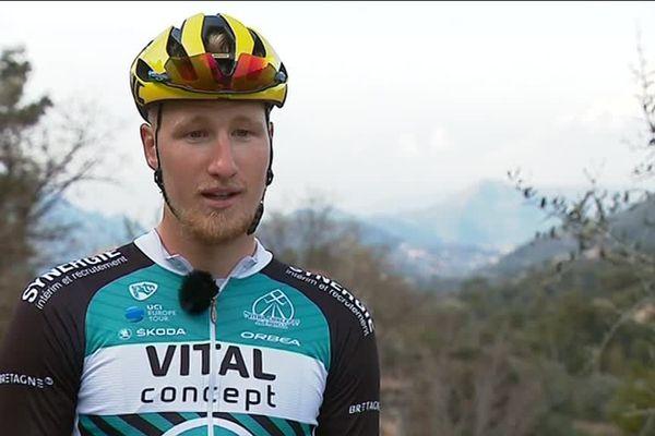 A 23 ans, l'Amiénois Corentin Ermenault a décidé de s'installer à Nice pour s'entraîner sur un terrain plus montagneux
