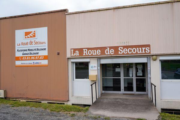 La Roue de Secours, locaux de Montbéliard.