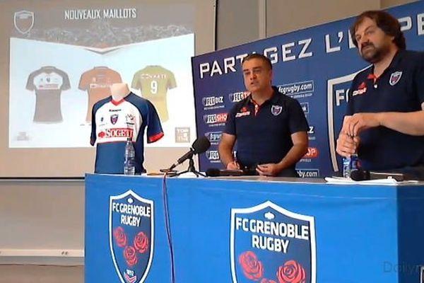 Le président Marc Chérèque et le vice président Michel Martinez