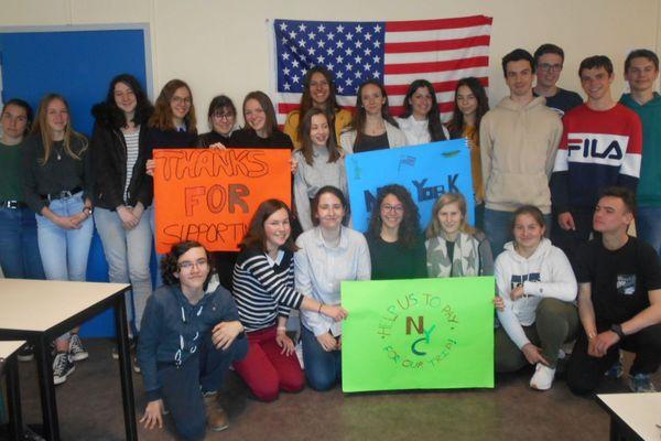 Les élèves du lycée Perseigne espèrent financer leur voyage à New York.