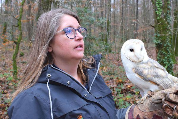 Amandine Diot est passionnée par les oiseaux depuis son plus jeune âge