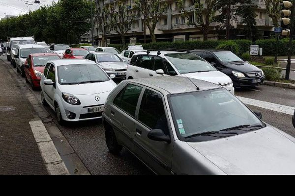 Circulation particulièrement difficile ce lundi matin à Grenoble
