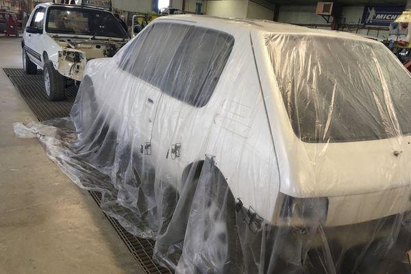 Des 205 GTI reconstruites de A à Z.