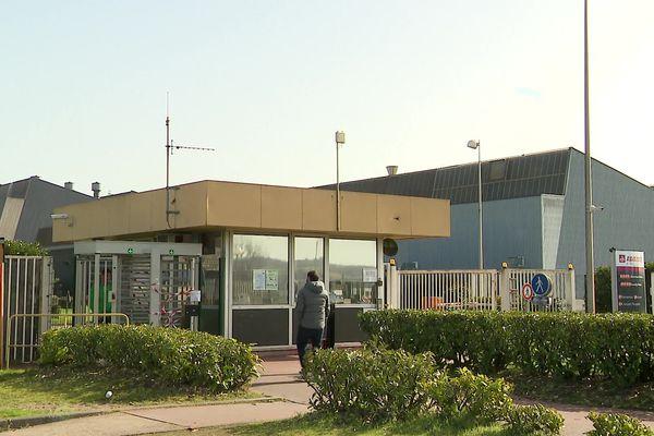 Le site de la fonderie aluminium à Ingrandes sur Vienne.
