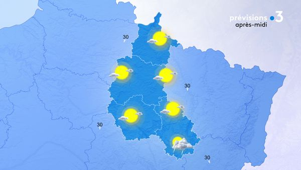 Le soleil est généreux sur la Champagne-Ardenne