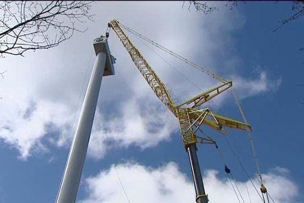Si tous les projets d'installations d'éoliennes voient le jour, le Cantal confortera sa place de premier département auvergnat producteur d'électricité éolienne