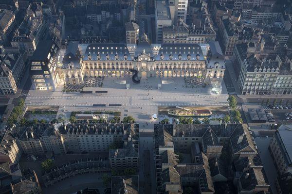 Le futur palais de commerce de Rennes a pour vocation de devenir un lieu de destination