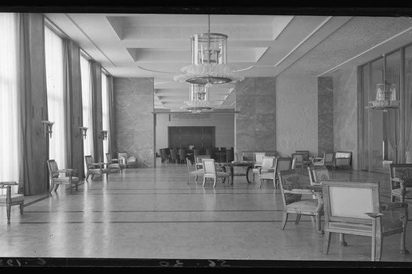 Les salons d'apparat dans les années 50