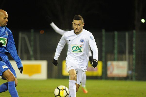 Le Moulins-Yzeure Foot va affronter le 6 janvier l'AS Monaco pour les 32ème de finale de la Coupe de France. En 2017, l'équipe de l'Allier avait jouer contre Belfort au 8ème tour de la compétition (photo ci-contre).