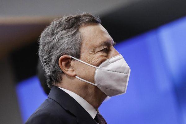 Le Premier Ministre Mario Draghi