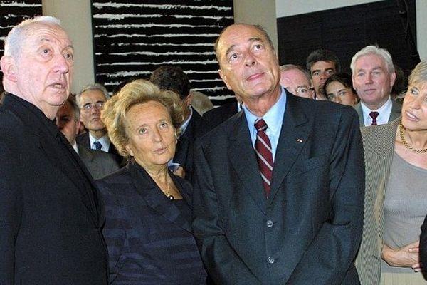 Jacques Chirac lui avait remis la Grand' Croix dans l'Ordre national du Mérite