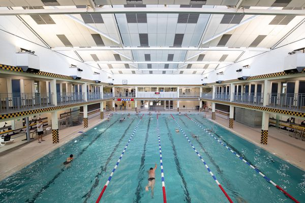 La piscine Talleyrand n'accueille pas du public mais uniquement des clubs.
