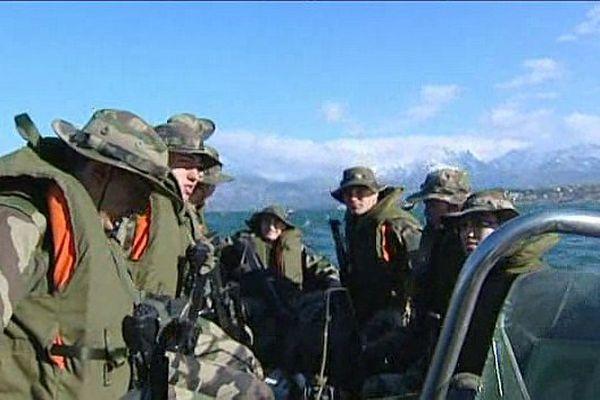 La préparation militaire découverte, une formule qui séduit les jeunes, ici au 2ème REP de Calvi (Haute-Corse)