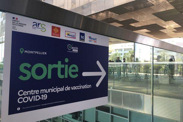 350 000 vaccinations par semaine actuellement en Occitanie. Montpellier.