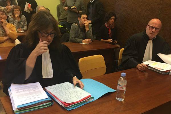 Ouverture de l'audience de la Cour administrative d'appel de Lyon.