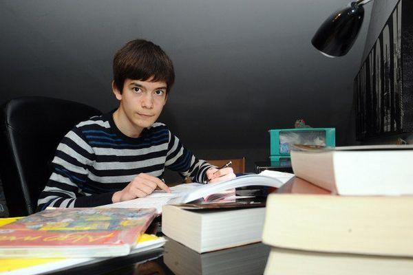 Maxime, bachelier à 14 ans