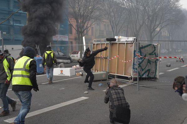 De nouveaux incidents à Toulouse ce samedi