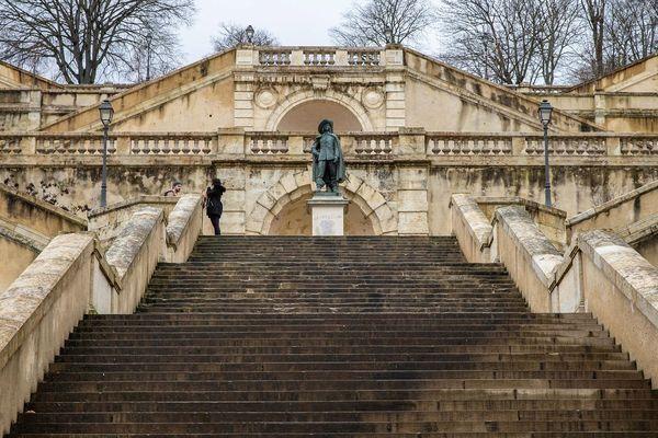 L'escalier monumental à Auch (Gers)