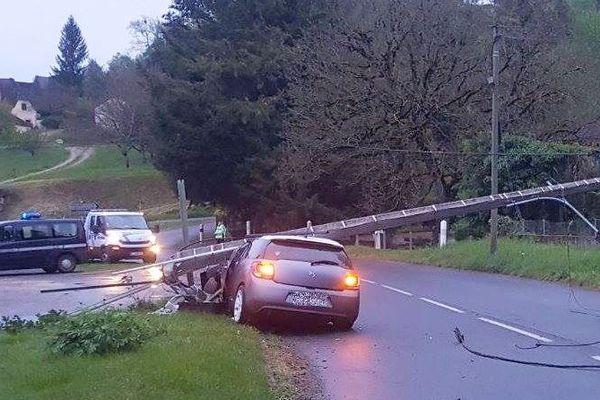 Un accident en Dordogne en avril dernier qui n'avait pas fait de victime