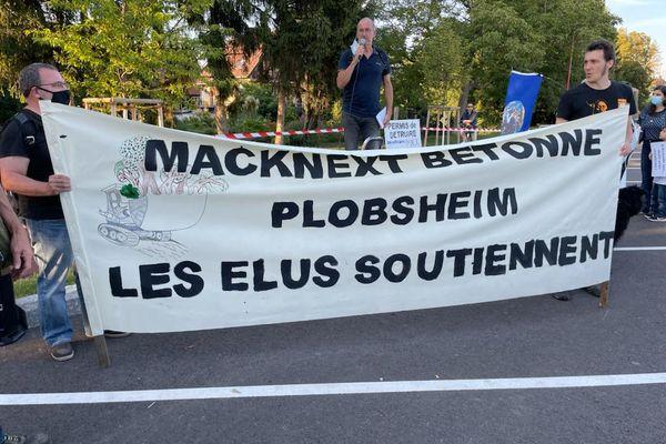 Le collectif écologiste le chaudron des alternatives a lancé un appel à la mobilisation contre le projet d'implantation d'une filiale numérique de la famille Mack à Plobsheim