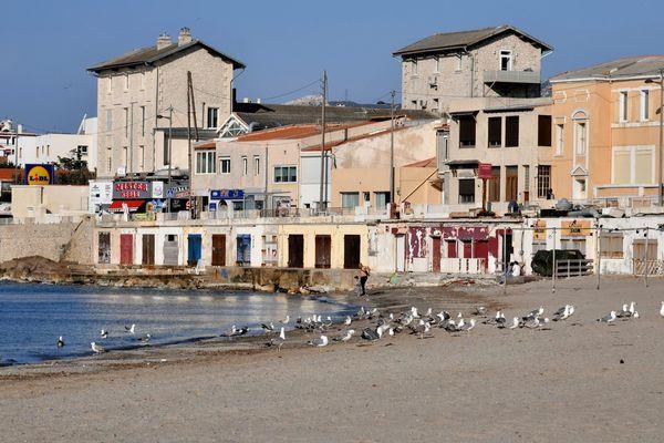 Les plages de Marseille sont actuellement fermées.