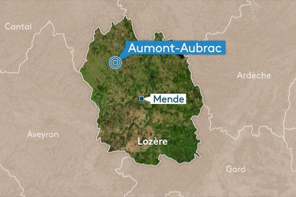 """Les mesures de radon (gaz radioactif incolore et inodore) ont révélé un niveau de concentration anormalement élevé à l'école privée """"La Présentation"""" de la commune d'Aumont Aubrac (48)."""