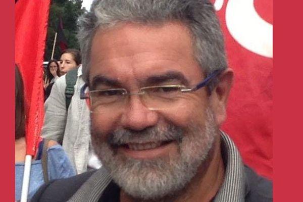 Vincent Maurin, candidat PCF-Front de Gauche aux municipales à Bordeaux