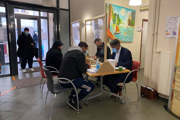 Le bureau d'accueil GRDF à Metz