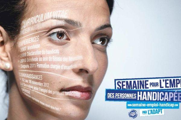 La semaine pour l'emploi des personnes handicapées du 12 au 18 novembre 2012