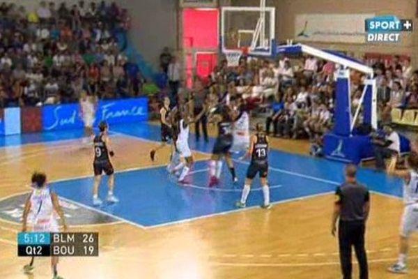 finale aller ligue féminine de Basket Lattes - Bourges