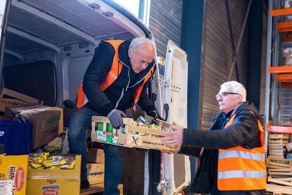 les bénévoles de la Banque Alimentaire du Havre