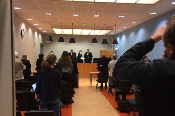 Des mineurs de Lorraine devant la Cour d'appel de Douai (Septembre 2020)