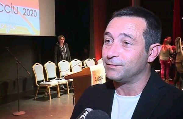 Jean-François Casalta, tête de liste Pà Aiacciu
